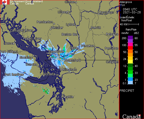 Weather Radar - Aldergrove, BC - Environment Canada